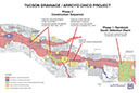 Tucson Drainage - Arroyo Chico Project Map