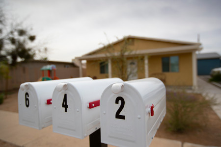 File: neighborhood mailboxes