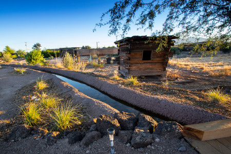 File: Mission Garden acequia