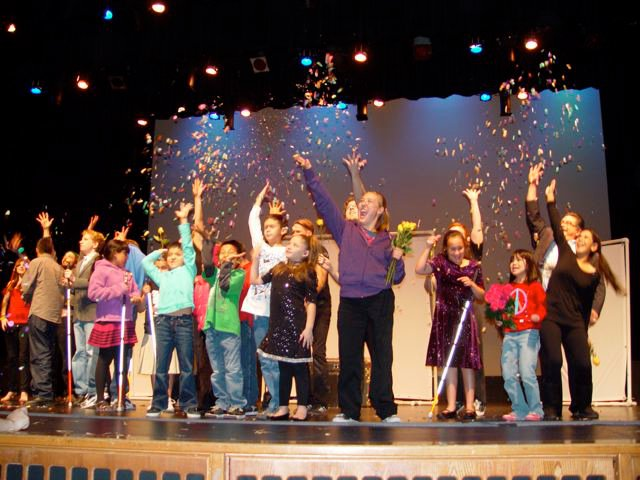 Stories that Soar! performance at Arizona State Schools for the Deaf and Blind.
