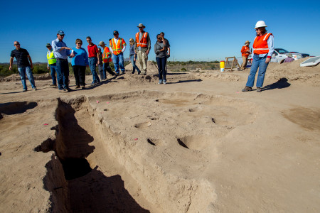 File: Sunset Road Public Archaeology Program