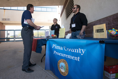 File: Procurement Fair at Kino Veterans Memorial Stadium
