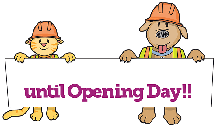 Countdown to Grand Opening of new facility
