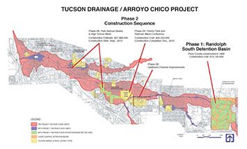 Arroyo Chico Project Map