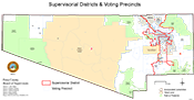 Supervisorial Districts Voting Precincts