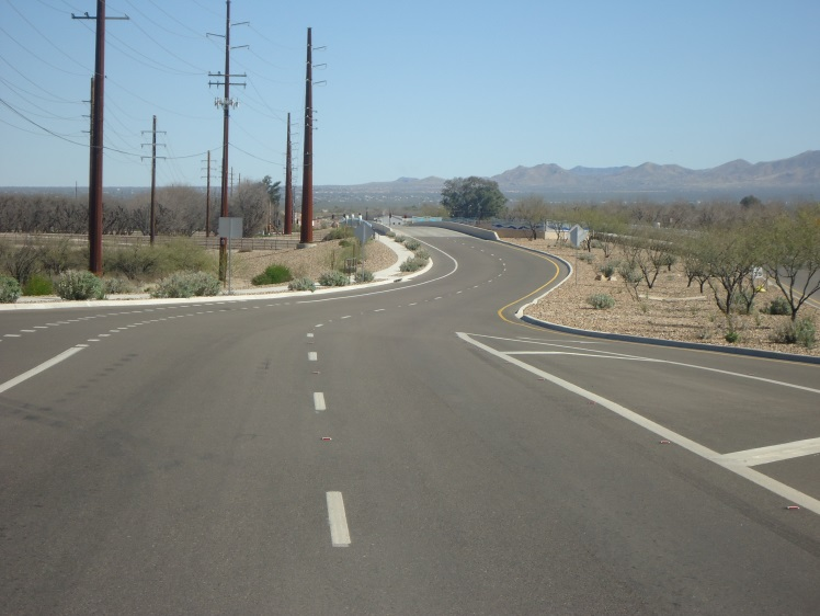 CPR PR4.42 Bicycle Lane of Sahuarita Rd 1of2