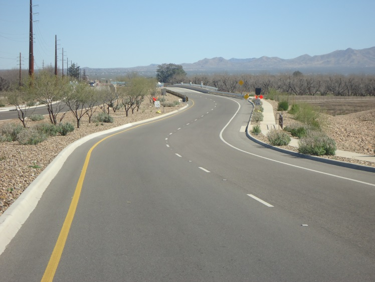 CPR PR4.42 Bicycle Lane of Sahuarita Rd 2of2