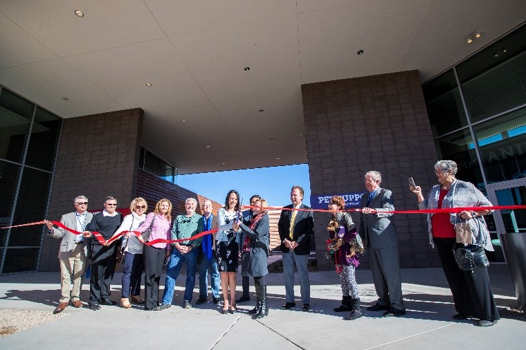 Phase 1 ribbon cutting