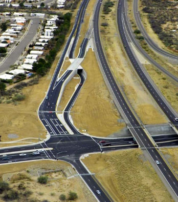 I - 19 Frontage Rd: Continental Road to Canoa Road