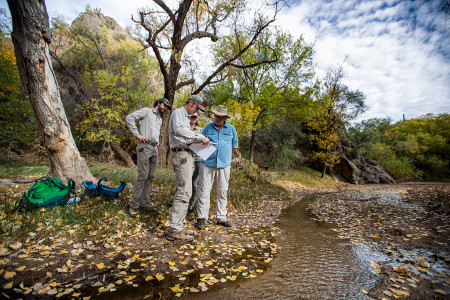 Pima County fish survey for conservation lands policy