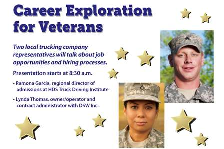 Veterans career workshop