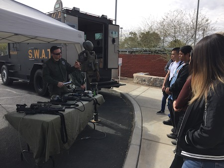 SWAT team display
