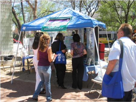 PDEQ Outreach Booth