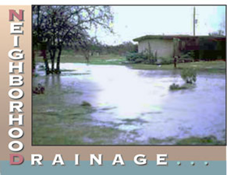 Nuissance Drainage page banner