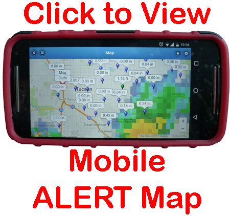 New ALERT Map for mobile devices