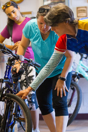 Bike safety class