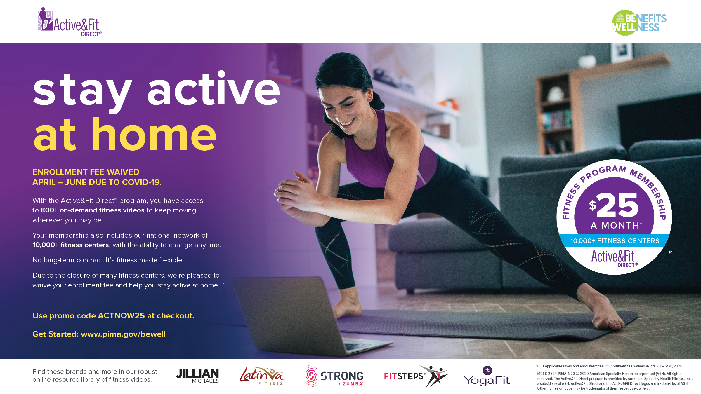 Active&Fit Direct Banner