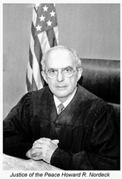 Justice of the Peace Howard R. Nordeck