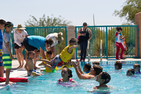 Pima County swim lessons