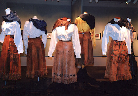 Cowgirl exhibit