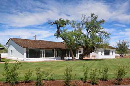 Rehabilitated Manning House at Canoa Ranch