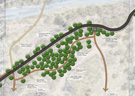 Pantano Wash Bank Protection and River Park Project