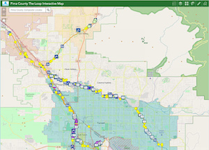Loop interactive map