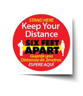 Keep Your Distance Material