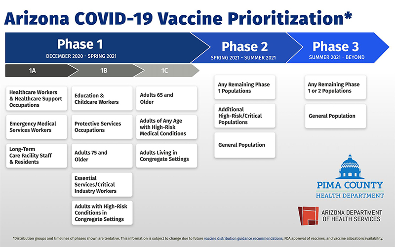 Vaccination Phases Chart