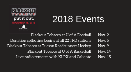 Blackout Tobacco 2018 Events