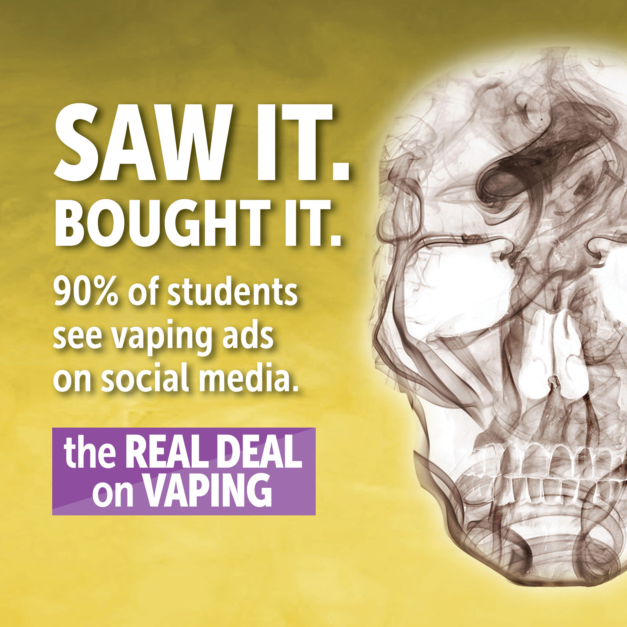 social media and teen vaping rates